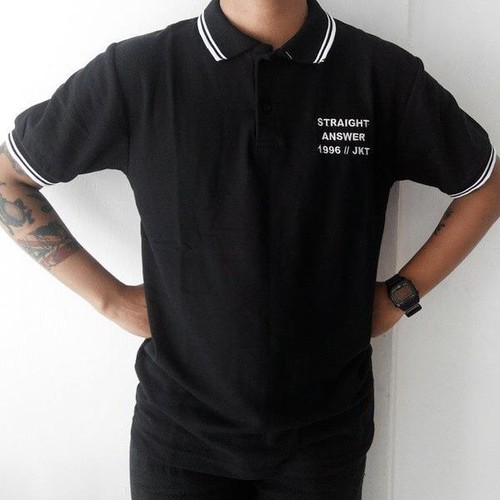 Straight Answer Polo shirt