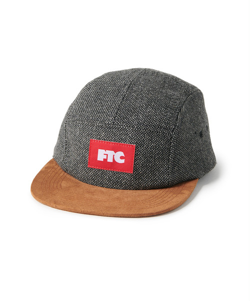 FTC (エフティーシー) / TWEED CAMP CAP -CHARCOAL-