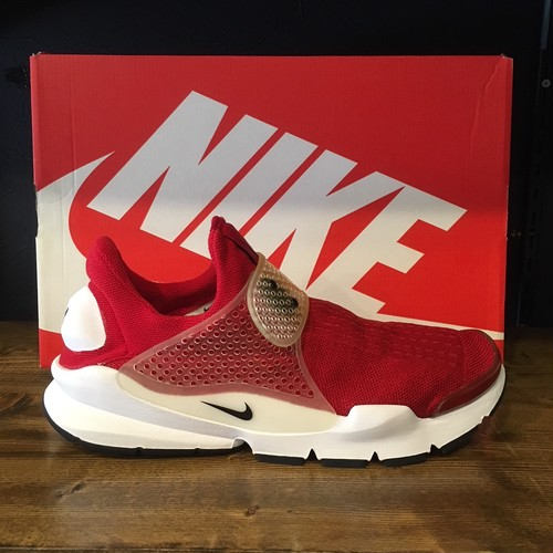 【NIKE】SOCK DART GYM RED/BLACK-WHITE (819686-601)