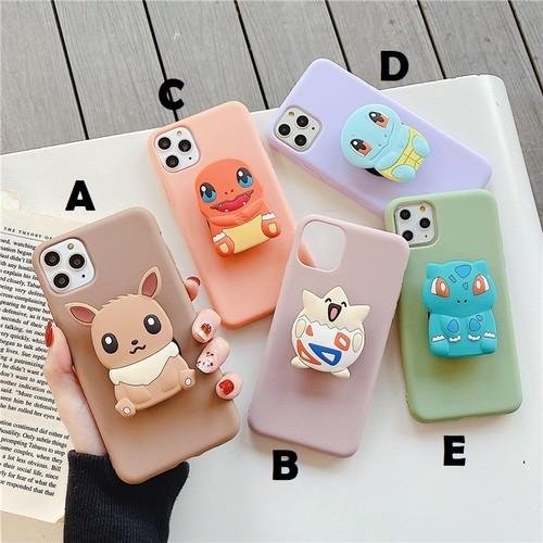 【オーダー商品】グリップ付き cute monster iphone case