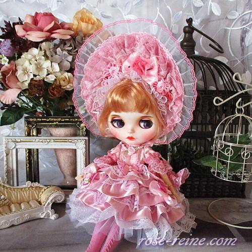 ★Xmasセール★ロマンティックロリータシリーズ パールピンクのフリルドレス