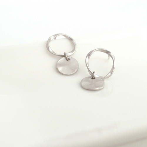 Mobius Strip Pierce(silver)