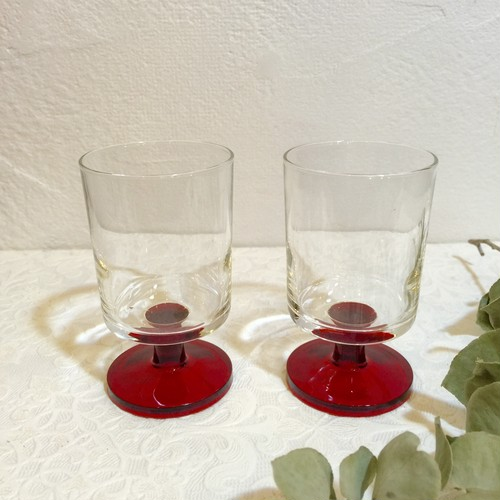 "70's Vintage Glass ""Luminarc""  from FRANCE [GV-6]"