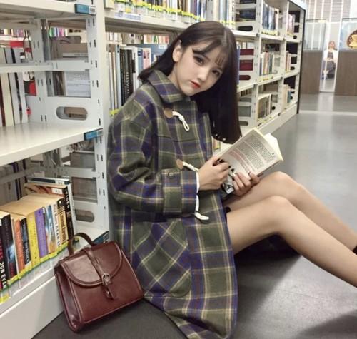 全2色♡ レトロガールダッフルコート♡