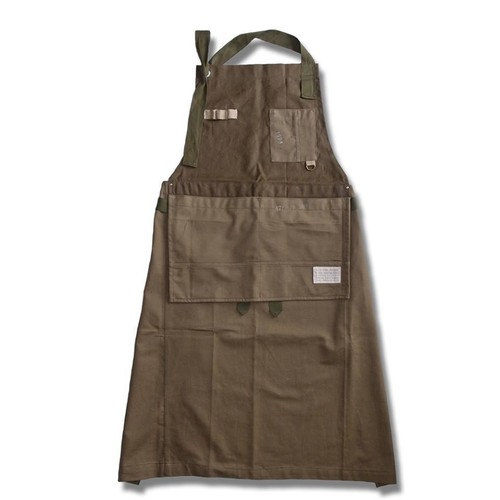 Remake Staff Apron -Military Cloth