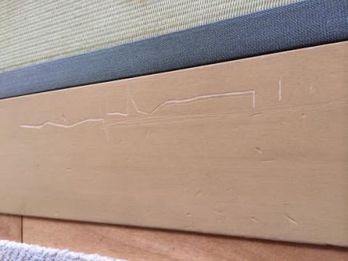 ドアの傷修理リペヤ