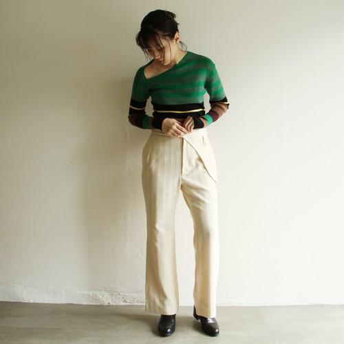 JUN MIKAMI【 womens 】wool corduroy pants