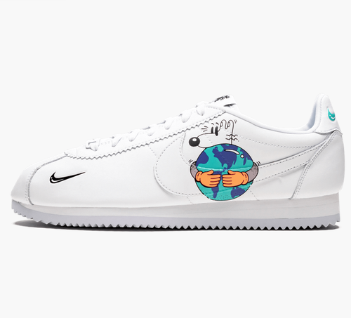Nike Earth Day Collection Cortez Flyleather QS Sneaker Shoes