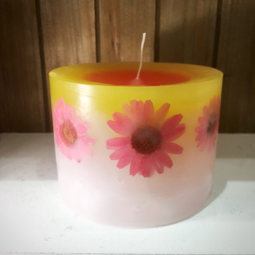 FLOWER CANDLE  Msize