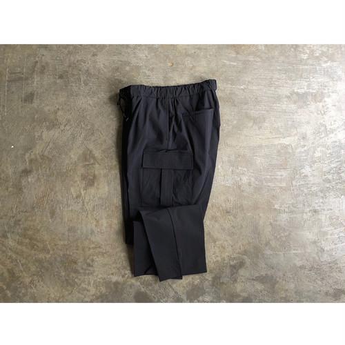 FLISTFIA (フリストフィア) Nylon Cargo Trousers Black