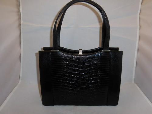 クロコダイル&リザードのビンティージバック crocodile & lizard vintage bag (made in Japan)(No2)