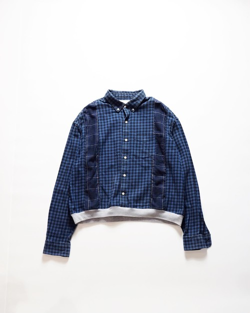 custom short flannel shirt ②