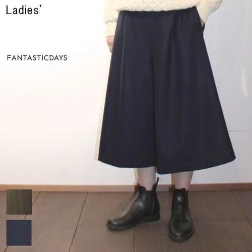 FANTASTICDAYS ウールガウチョパンツ BLANKET-64-01 (KHAKI , NAVY)
