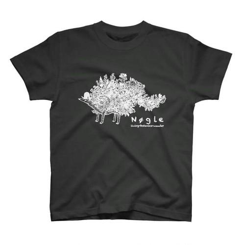 T-shirt【篠崎理一郎×NØGLE】(black)