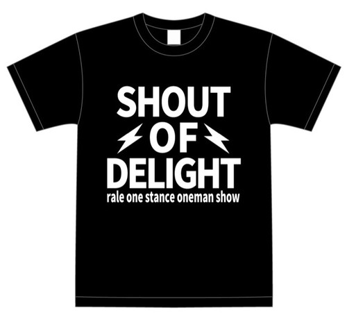 SHOUT OF DELIGHT Tシャツ