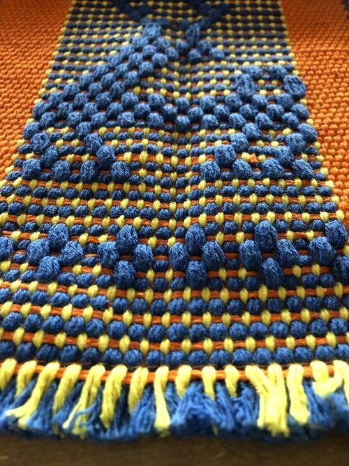 メキシコの腰織りランチョンマット