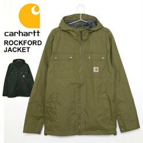 あす楽対応可 送料無料 カーハート ジャケット メンズ ROCKFORD JACKET ロックフォード ジャケット 100247 ブラック オリーブ CARHARTT