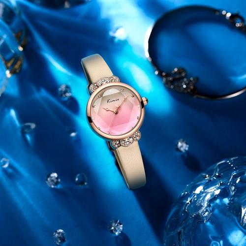 Kimio AF-Z1008 Crown(Pink Orange) レディース腕時計