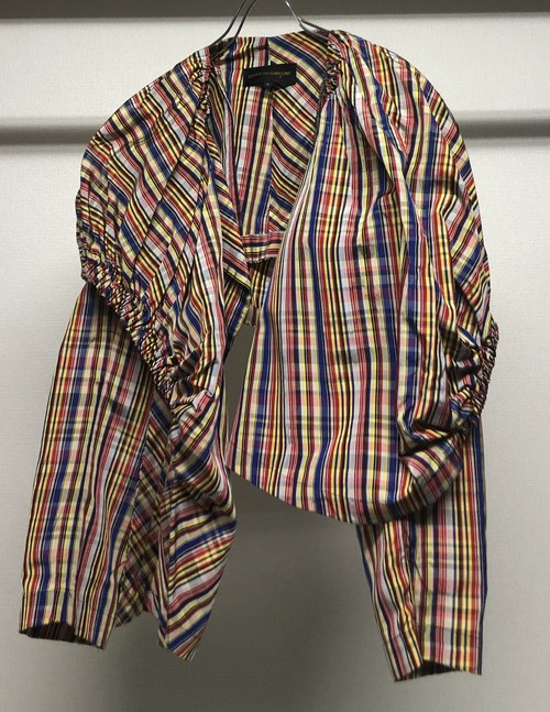 SS1990 COMME DES GARCONS GATHERED BALLOON JACKET