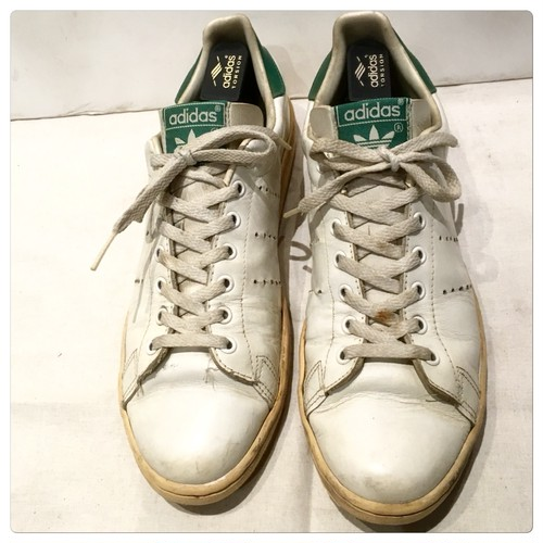 Vintage Adidas Stan Smith Trainers Made In Canada