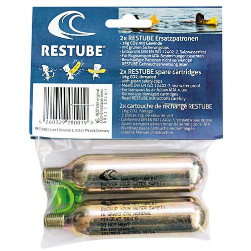 GUARD ガード レスチューブ(RESTUBE)専用 スペアCO2カートリッジセット 2本入り restubecartridge