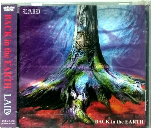 LAID「BACK in the EARTH」(CD)