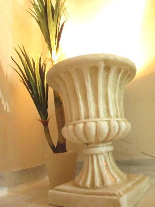 【古代ローマ風高級オブジェ】 ヨーロピアンオブジェ 間接照明カバー シェード ロココ調 ガーデニング