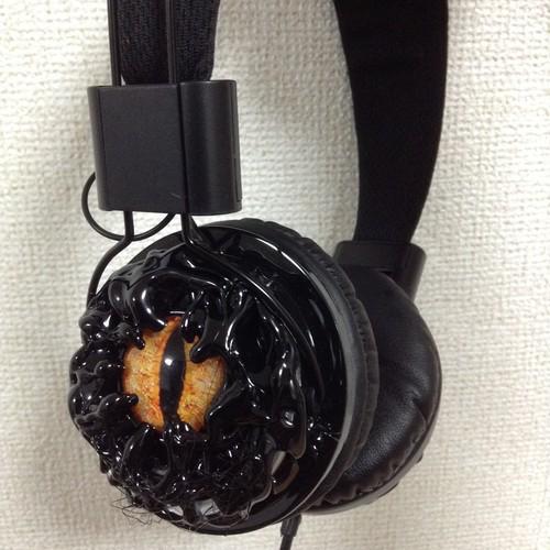 Devil eye headphone  VOLCANO