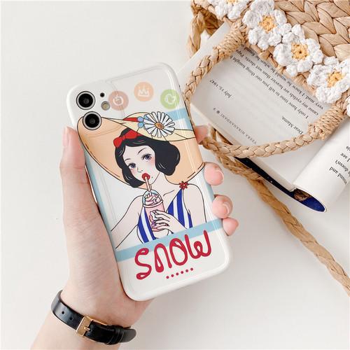 【オーダー商品】Cute summer girl iphone case