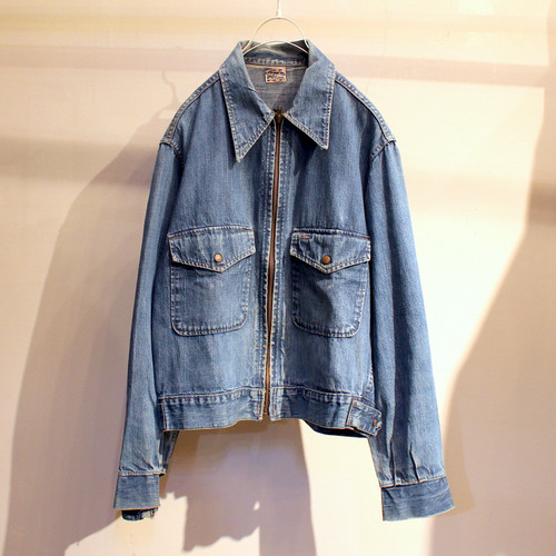50s ''WORKMASTER'' DENIM WORK JACKET UT-426