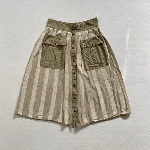 annalisa ferro   linen gimmick skirt (V5073A)