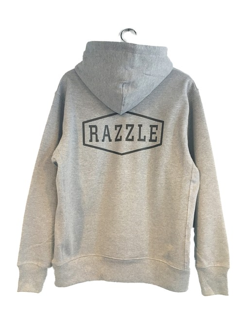 [50%OFF] RAZZLE / Emblem Logo PULL OVER PARKA / GREY
