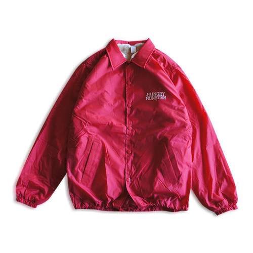 Coach Jacket (裏ボア/RED)