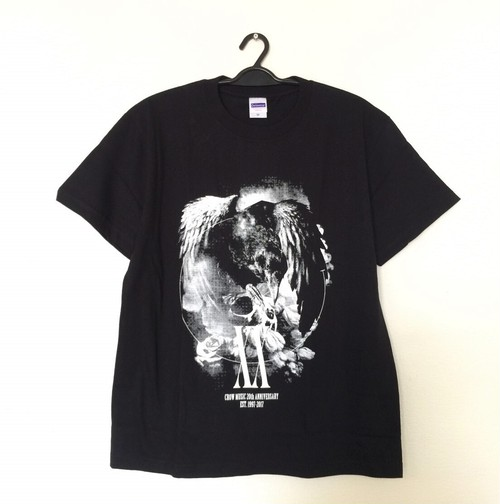 CROW MUSIC 20th Anniversary Tシャツ
