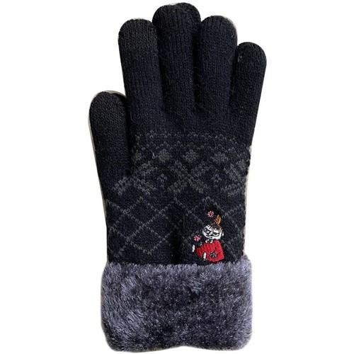 【MOOMIN】ムーミン スマホ対応手袋(おすわり/MMAP3875)