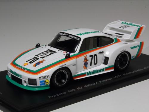 "Spark Model ポルシェ 935 K2 ""Vaillant"" 1977年 ホッケンハイム #70"