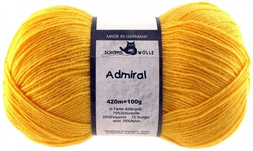 col.0580 Admiral --Egg yolk yellow