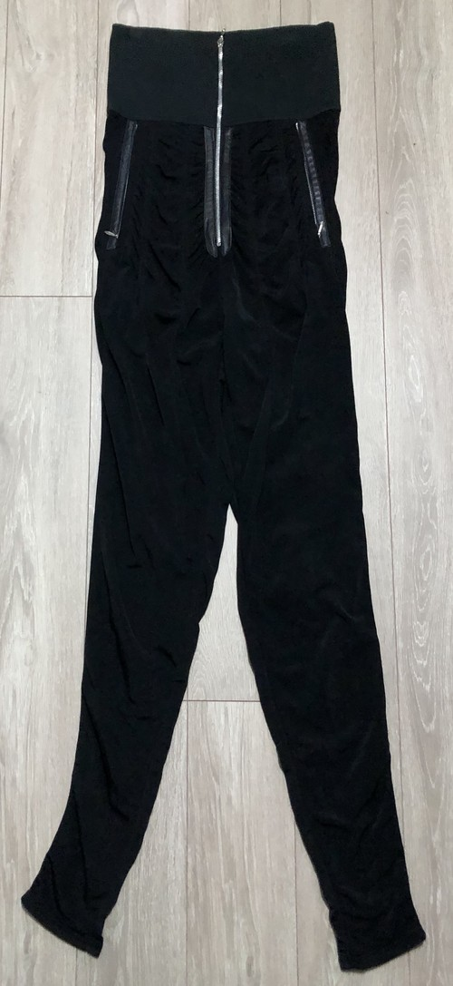 1980s MARITHE FRANCOIS GIRBAUD HIGH WAISTED TROUSERS
