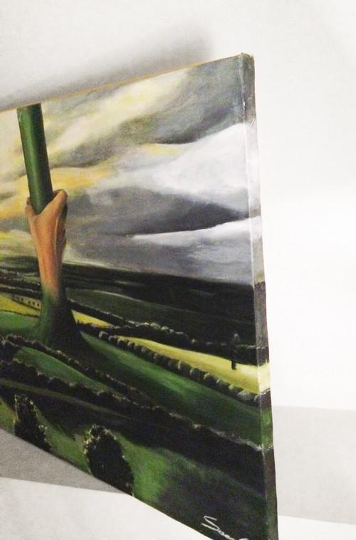 Curios hand/成長 インテリア アート 絵画 Interior painting