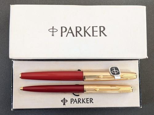 【セット販売】'70s パーカー 61 カスタム PARKER 61 CUSTOM (極細字) 14K (+ パーカー ボールペン)     02457