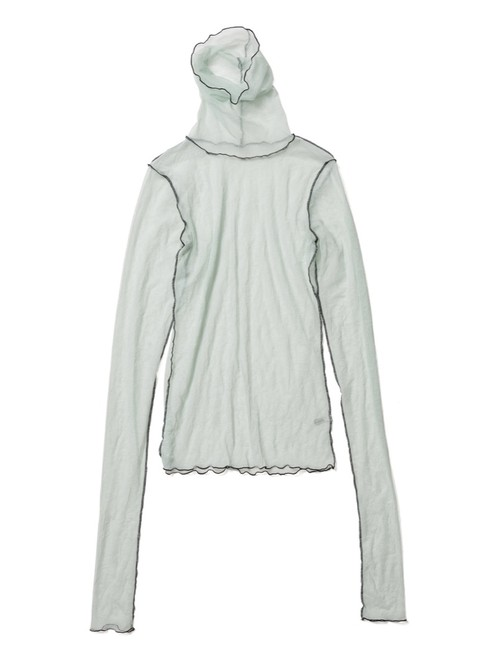 【FILL THE BILL】SHEER TURTLE NECK