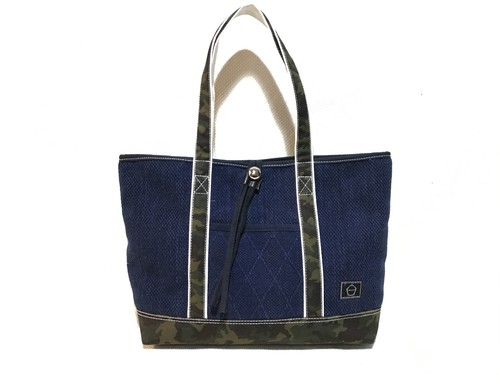 ーMARKーCANVAS COLOR TOTE  CAMO SIZE:M