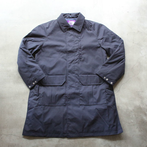 THE NORTH FACE PURPLE LABEL 65/35 Insulated Soutien Collar Coat DARK NAVY