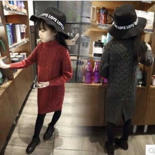新入荷!!キッズファッション★★キッズセーターワンピース★★   w10140