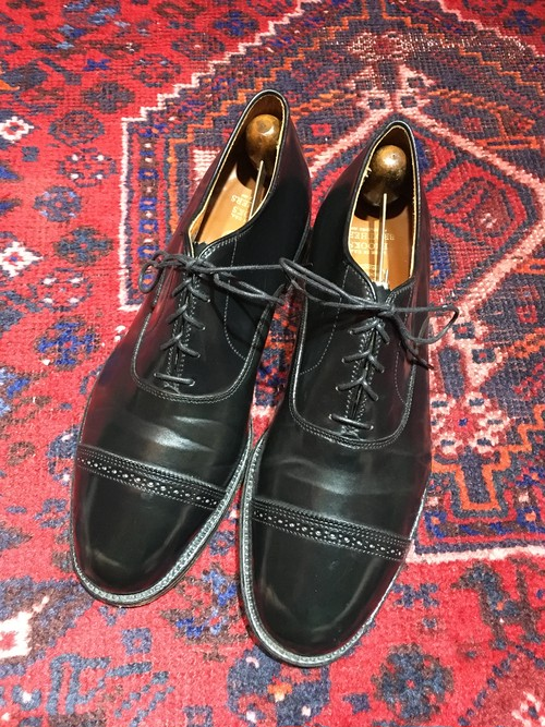 .ALDEN 15149 CORDOVAN LEATHER STRAGHT TIP SHOES MADE IN USA/オールデンコードバンレザーストレートチップシューズ 2000000041902