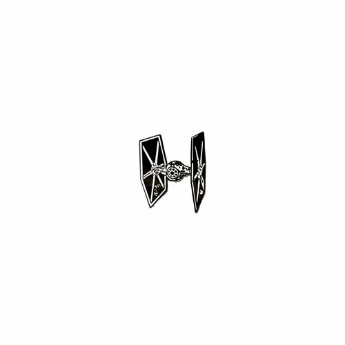 """OTHER WORLD""""Rogue Tie Fighter pin"""""""