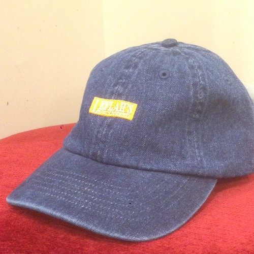 "LEFLAH / レフラー | Low-Cap "" Box Logo "" / Denim-Indigo"