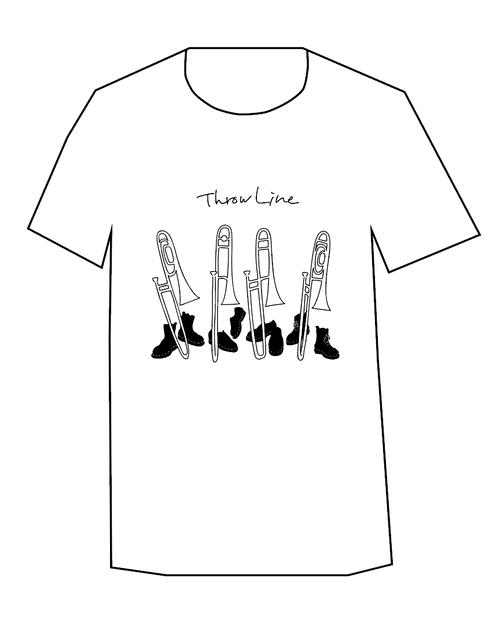 Throw Line Tシャツ 第1弾