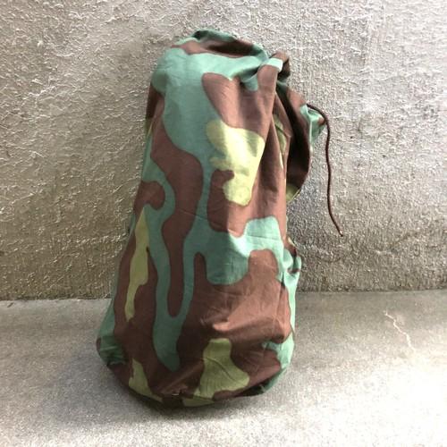 米軍 放出品 ミリタリーカモ カモ柄 コットン生地 ビンテージ ランドリーバッグ ダッフルバッグ