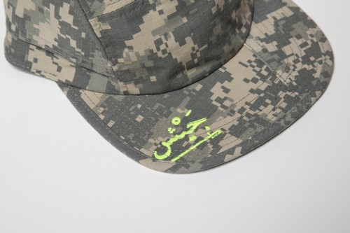 ACU CAMO ARMY CAMP CAP T-2